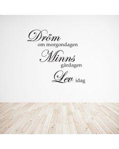 Dröm, Minns, Lev